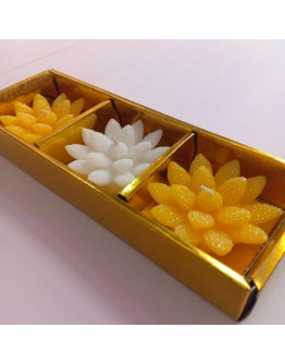 Floating flower candles perfect gift collection for festive season