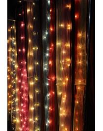 Led curtains for festive season
