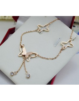 Trendy Butterfly Anklet for women
