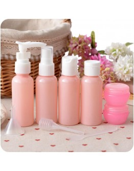 Travel Cosmetics Spray Bottle 9Pcs Set