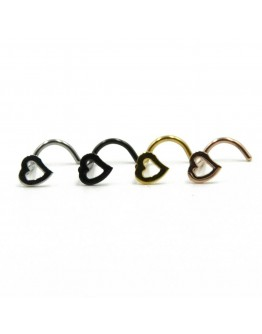 Temperament Fashion Metal Nose Ring (1 Pc)