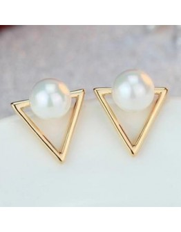 Fashion Personality Geometric Stud Earrings