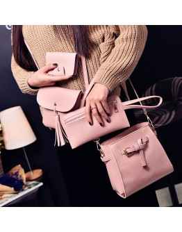 4pcs Mini PU Shoulder Bag Set