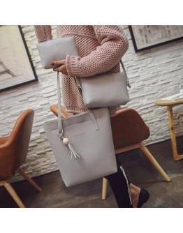 3 Pcs Fashion Simple Bags Set