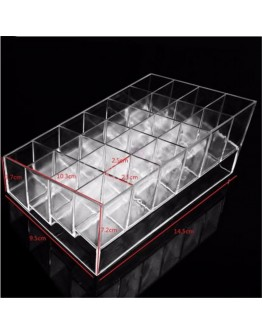 Transparent Makeup Storage Box