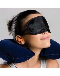 3-in-1 Travel Set Travel Kit Pillow/Eye Mask/Ear Plugs