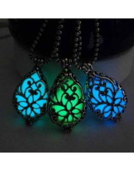 Glow in Dark Hollow Necklace