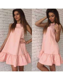 Women Dress Vestidos Sexy Sleeveless Casual Mini Dress