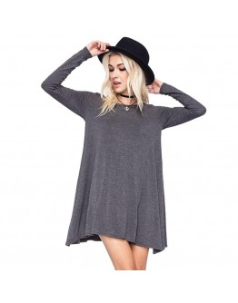 Full Sleeved Loose Comfy Dress