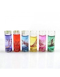 Glass Gel Candles set of 12pcs