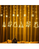 Beautiful Star Curtain LED String Light for this festive season