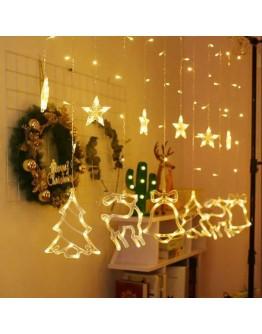 Beautiful Star Curtain LED String Light for this festive season