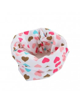 Kids winter scarf multi use girl children collar bandanas baby wear