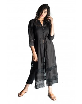 Women Kurti Premium cotton Front slit designer elegant perfect summer wear Kurta