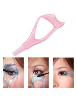 3in1 Eyelash Curler Mascara Applicator Makeup Beauty Cosmetic Tool
