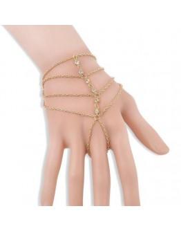 Women elegant Multi-Layer crystal drill bracelet