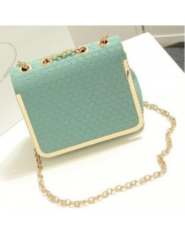 Women Bag Candy Color Vintage Fashion Shoulder Small PU Leather Handbag