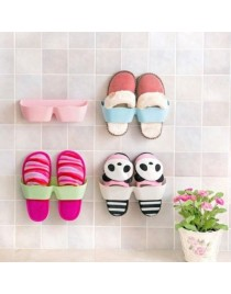 Living Room Shoe Rack  Bathroom Wall-mounted Vertical Storage Rack Shoe Holder