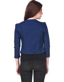 Women Denim Jacket Western Solid Quality Jacket