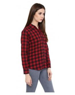 Women New Trendy Thin Wool Girls Shirt