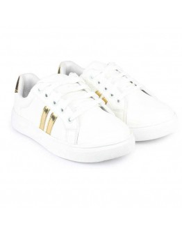 Women White Shoes Canvas Pvc Casual Shoes