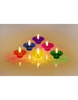 Reflection diyas